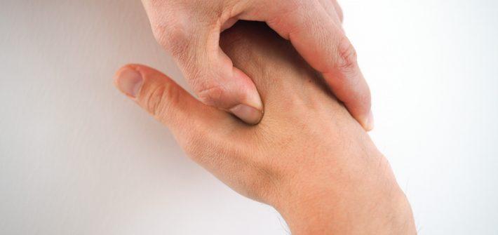 Akut-Punkte bei Spannungskopfschmerzen Dickdarm 4